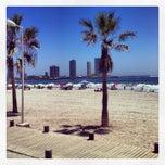 Photo taken at Playa Cavancha by Lorenzo A. on 1/31/2013