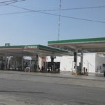 Photo taken at Gasolinera PEMEX by Rodolfo R. on 3/23/2013