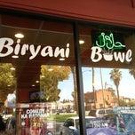 Photo taken at Biryani bowl by Zain J. on 3/17/2013