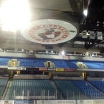 Photo taken at Mohegan Sun Arena at Casey Plaza by Frank D. on 1/30/2013