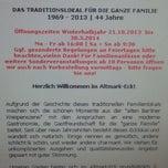 Das Foto wurde bei Altmark-Eck | Traditionslokal für die ganze Familie von Til E. am 10/22/2013 aufgenommen