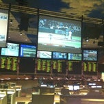 Photo taken at Bally's Sportsbook by Rich D. on 10/4/2012