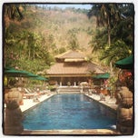 Photo taken at Puri Mas Boutique Resorts & Spa by Tim J. on 9/20/2012