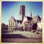 Photo taken at Grote Markt by Marc VC on 11/15/2012