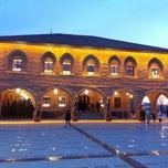 Photo taken at Hacı Bayram-ı Veli Camii by Tamer K. on 2/2/2013