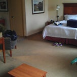 Photo taken at Hampton Inn by Matthew D. on 8/30/2013