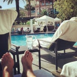 Photo taken at Four Seasons Hotel Las Vegas Pool by Michelle F. on 4/27/2013