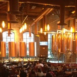 Photo taken at Sierra Madre Brewing Co. by Yanneth Á. on 12/28/2012