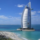 Photo taken at Burj Al Arab برج العرب by Jonathan T. on 10/12/2012