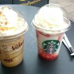 Photo taken at Starbucks by Dóra B. on 7/21/2013