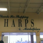 Photo taken at Harps Food Store by Nathan H. on 4/5/2014