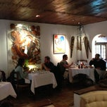 Photo taken at La Colombe d'Or by Federica F. on 4/27/2013