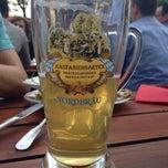 Photo taken at Brauereischenke Kastaniengarten by Eva-Maria H. on 5/20/2014