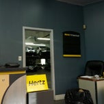 Photo taken at Hertz Rent a Car by Tonton F. on 9/23/2012
