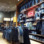 Photo taken at Levi's Store by Tonton F. on 10/8/2012