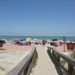 Photo taken at Cocoa Beach by Dannan R. on 5/17/2013