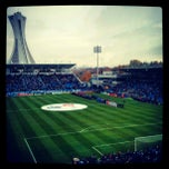 Photo taken at Stade Saputo by Thuymi D. on 10/27/2012