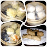 Photo taken at Bamboo Dimsum & Mie Tarik by Wida S. on 10/7/2014