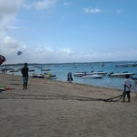 Photo taken at Tanjung Benoa Beach by Anisa F. on 11/7/2012