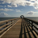 Photo taken at Waimea Recreation Pier by Lourdes L. on 1/6/2014