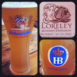 Photo taken at Loreley Restaurant & Biergarten by Kortney M. on 7/25/2013