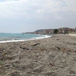 Photo taken at Spiaggia di Bova Marina - Zona Fairstar by Dani E. on 8/26/2013