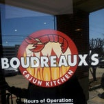 Photo taken at Boudreaux's Cajun Kitchen by ShaDell H. on 2/16/2013