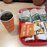 Photo taken at Del Taco by Mehrvash D. on 4/18/2014