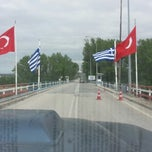 Photo taken at Greece Kipoi Border Station (Tελωνείο Kήπων) by yeliz A. on 8/14/2013