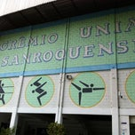 Photo taken at Gremio Uniao Saoroquense by Juliano B. on 1/4/2014
