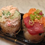 Photo taken at Sushi of Gari at The Plaza Hotel Food Hall by Helen L. on 7/7/2013