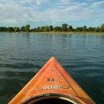Photo taken at Stony Creek Kayak/Canoe Rental by Alex D. on 7/5/2014