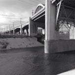 Photo taken at Sixth Street Bridge by Melissa H. on 1/8/2013