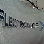 Photo taken at Flextronics Guadalajara Campus Norte by Cesar R. on 10/4/2012