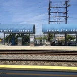Photo taken at Metrolink Burbank-Bob Hope Airport Station by Lindsay B. on 7/25/2013