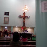Photo taken at Gereja Hati Yesus yang Maha Kudus by AGUSTINUS R. on 12/1/2013