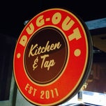 Photo taken at Dug-Out Kitchen and Tap by Kimberly M. on 9/20/2013