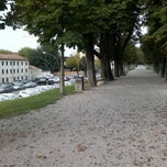 Photo taken at Piazzale Burchiellati by Mauro S. on 8/31/2014