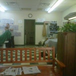 Photo taken at Lansdowne Barber Shop‎ by Chris M. on 6/30/2012