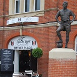 Photo taken at The Cafè At Craven Cottage by Fulham Football Club on 2/9/2012
