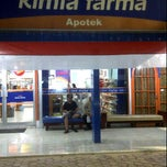 Photo taken at Apotik Kimia Farma 246 by ahamay a. on 9/8/2011