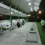 Photo taken at Garuda Putih Golf Driving Range by Setio N. on 4/8/2011