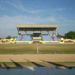 Photo taken at Stadion Manakarra by Randika on 8/21/2011