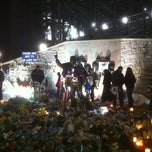 Photo taken at Joe Paterno Statue by TODD on 1/26/2012
