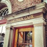 Photo taken at Gryphon Café by Gavin D. on 9/6/2012