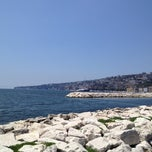 Photo taken at Lungomare di Napoli by Nikky83 on 5/30/2012