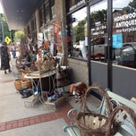 Photo taken at Homewood Antiques & Marketplace by Anne B. on 7/14/2012
