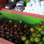 Photo taken at Pasar buah by Anisa S. on 8/19/2012