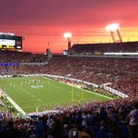 Photo taken at EverBank Field by Brian S. on 10/28/2012
