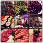 Photo taken at Wharo Korean BBQ by i 💕 on 1/10/2014